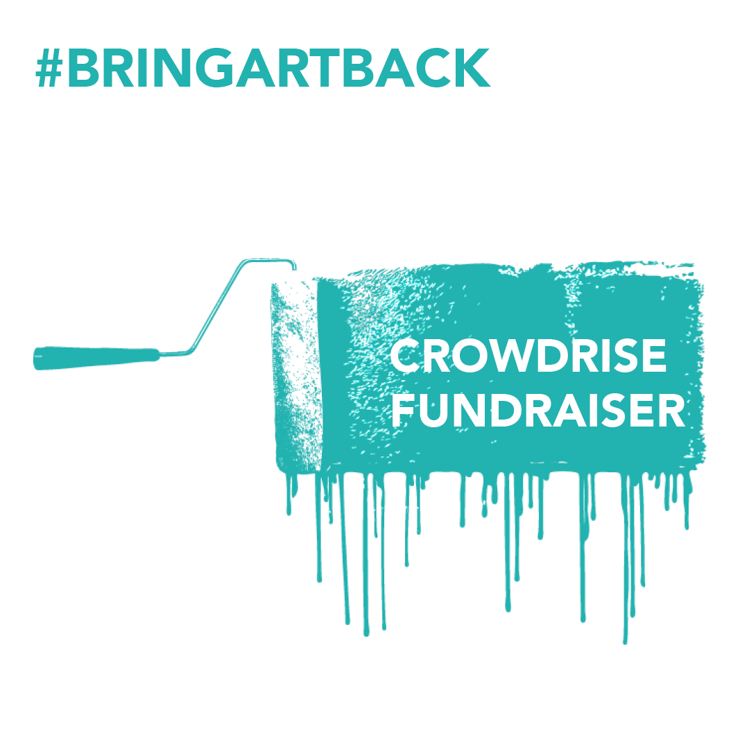 crowdrise fundraiser button on website