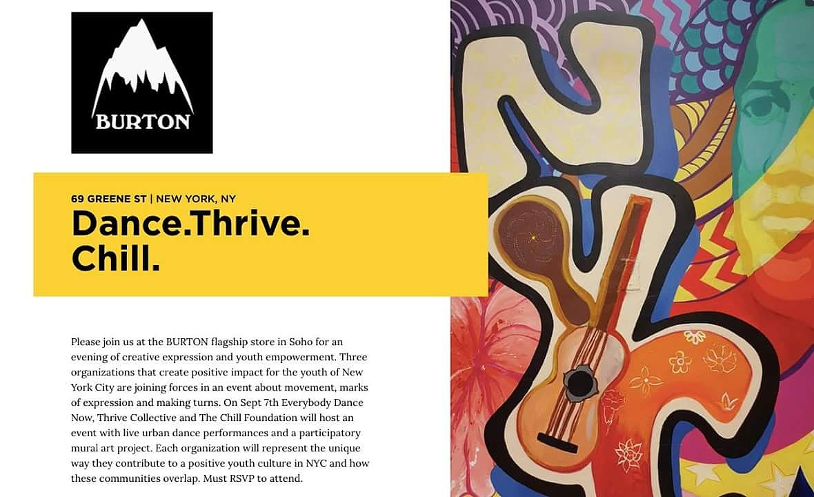 Thrive x Burton