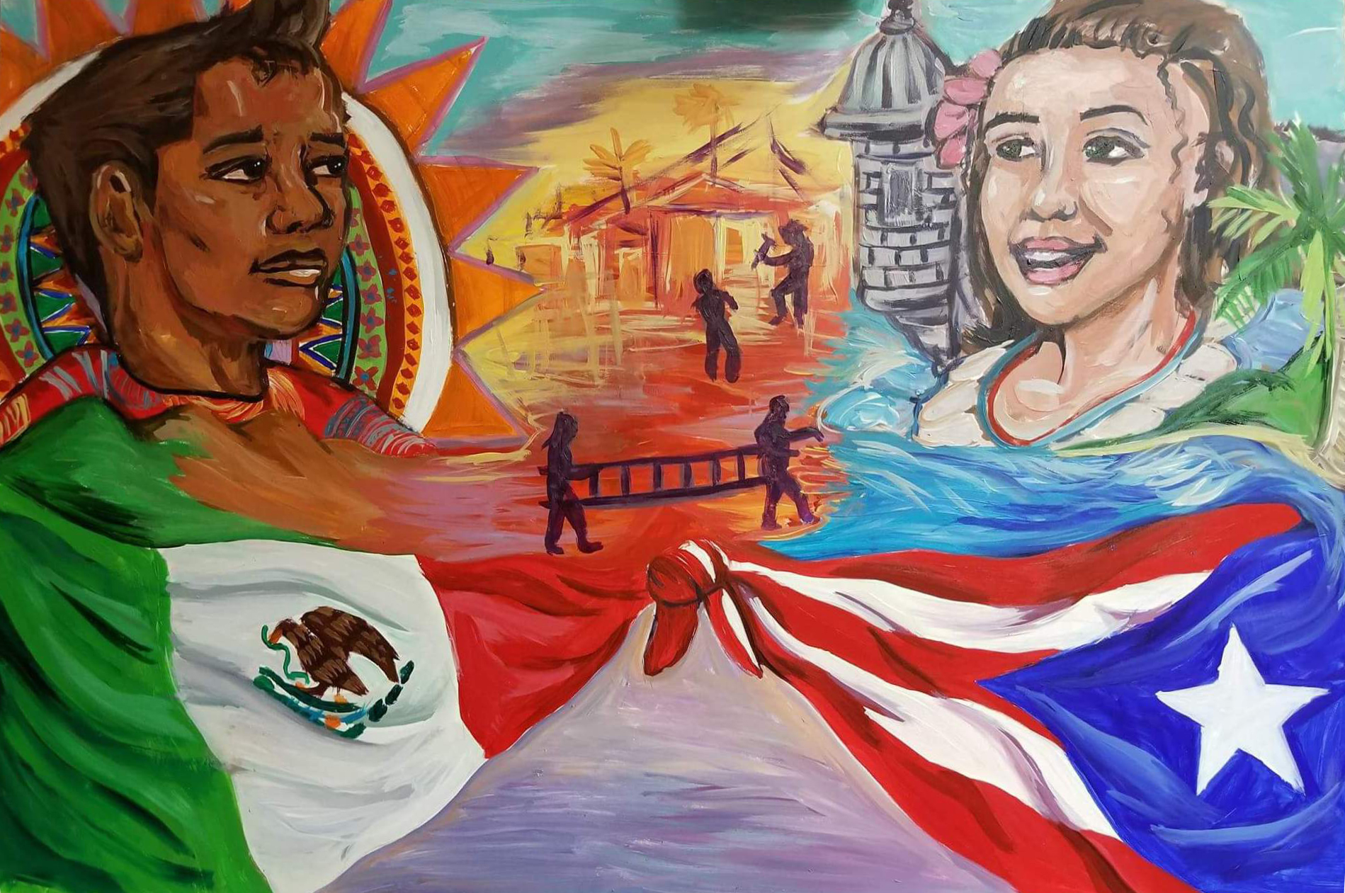 Mexico and Puerto Rico united
