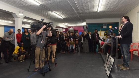 Jeremy Del Rio speech at the hub
