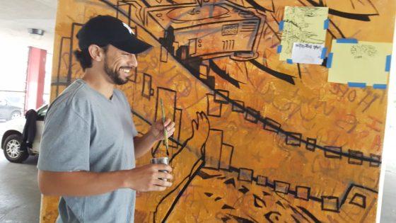 kekoa painting mural