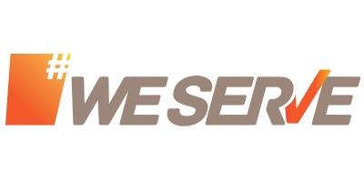 we serve logo
