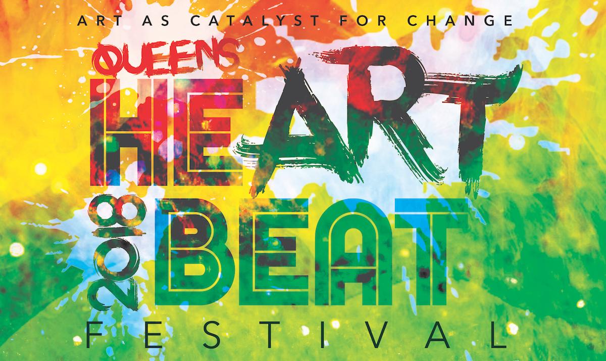 heART beat festival poster