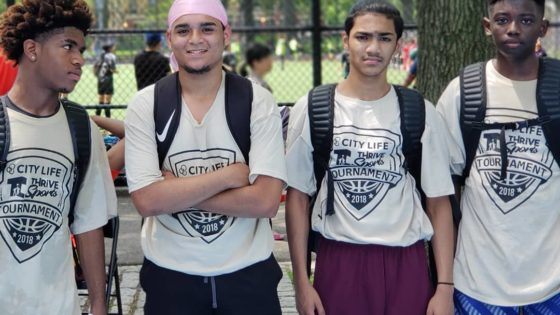 thrive sports basketball tournament
