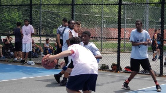 thrive sports basketball game