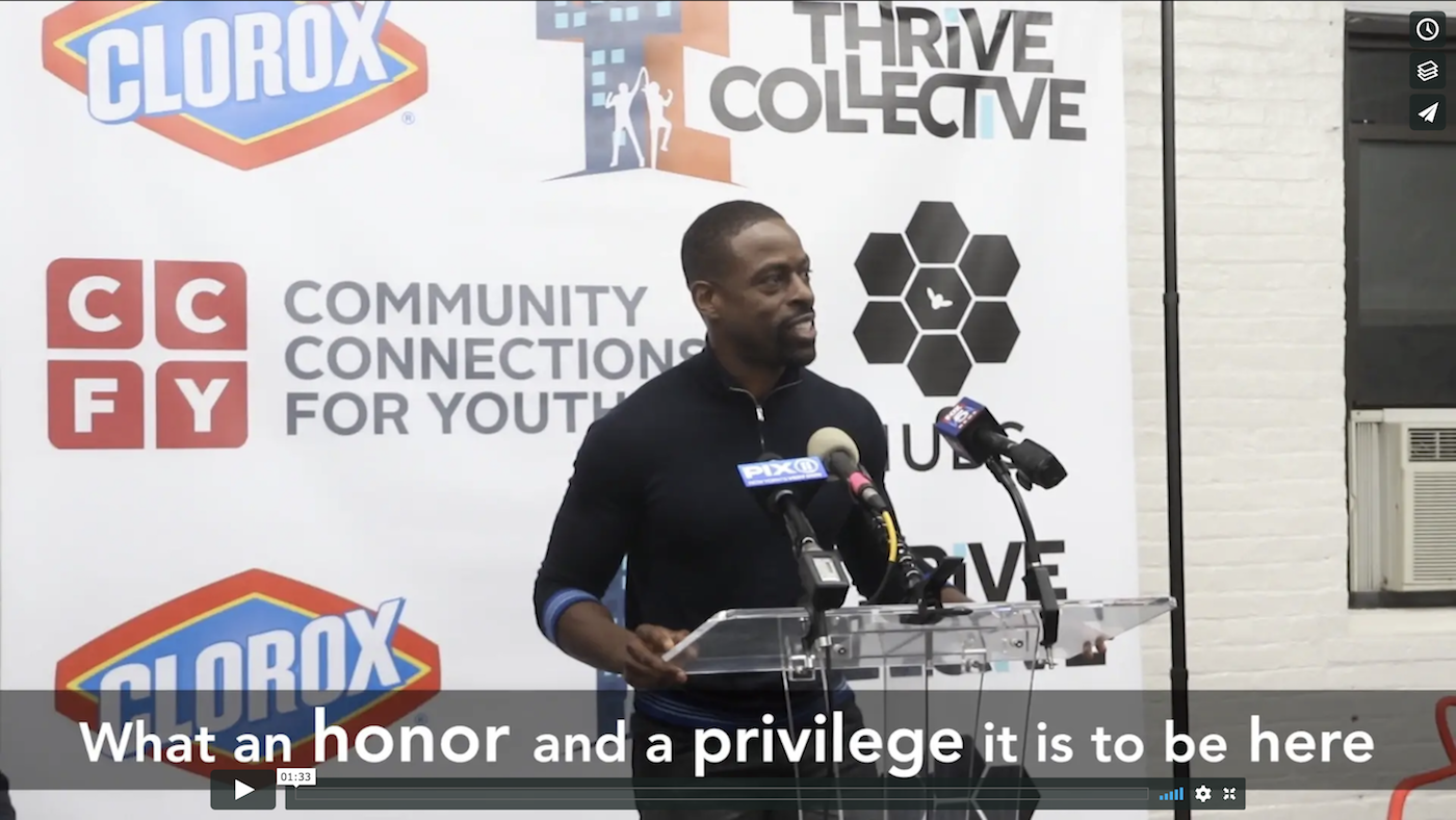 sterling k. brown giving speech