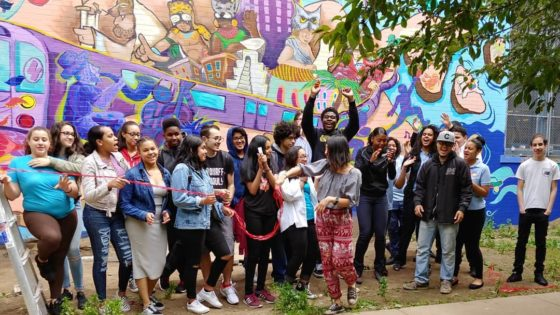 mural unveiling