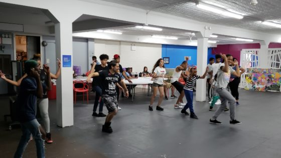 dance lessons at the Harlem hub