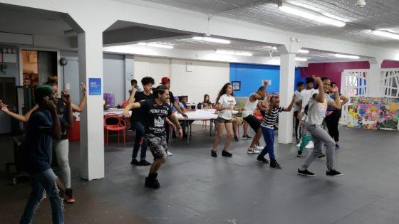 dance lessons at the Harlem hub