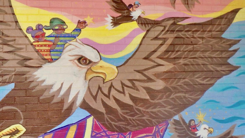 Eagles Mural