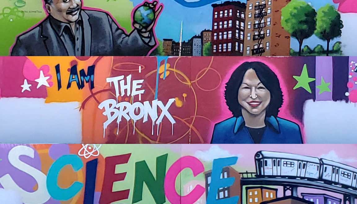 Bronx Science Mural