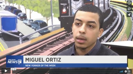 Miguel Ortiz news footage