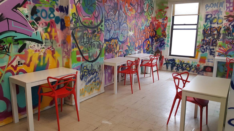 Hub art room desks