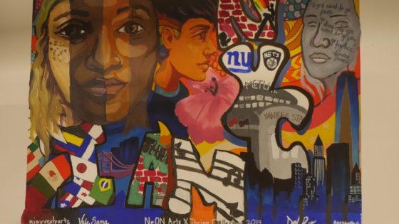 NYC Mayors Fund Thrive x NeON Arts