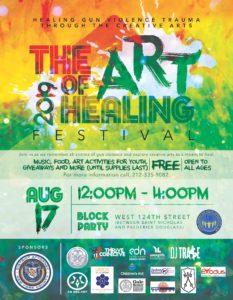 Art of Healing 2019 Harlem Flyer