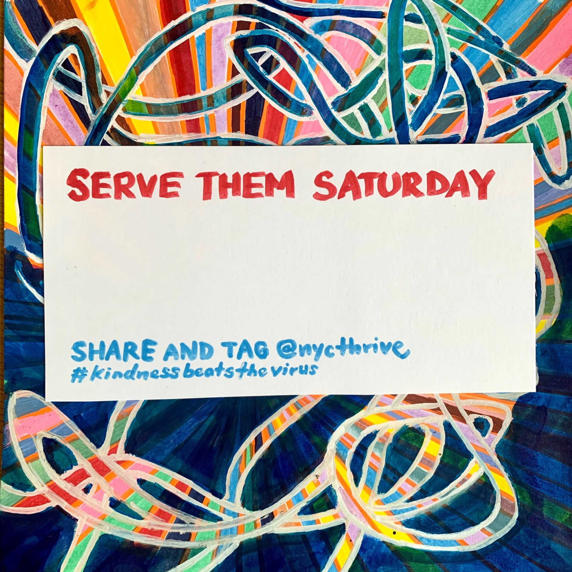 Serve Them Saturday