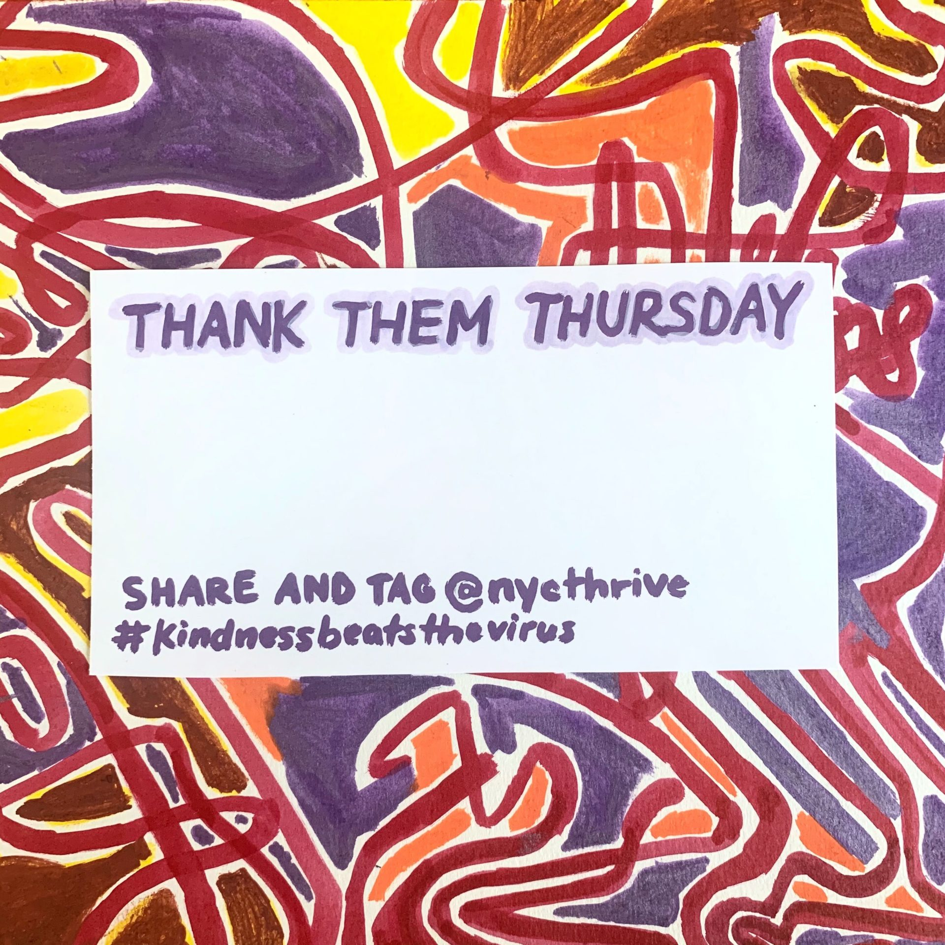 Thank Them Thursday