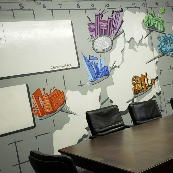 Map It Conference Table